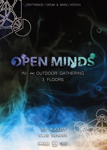 OPEN MINDS • In- and Outdoor Gathering • by AUM & Low-Cut